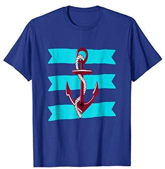 Anchor T-Shirt Ocean Vacation Maritime Tee