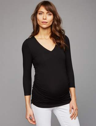 Isabella Oliver Pea Collection Sadie Maternity Top