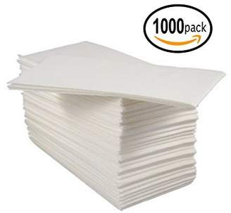 Bloomingoods Disposable Linen-Feel Guest Hand Towels / Cloth-Like Paper Napkins