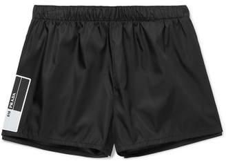 Rubber-Trimmed Nylon-Gabardine Shorts