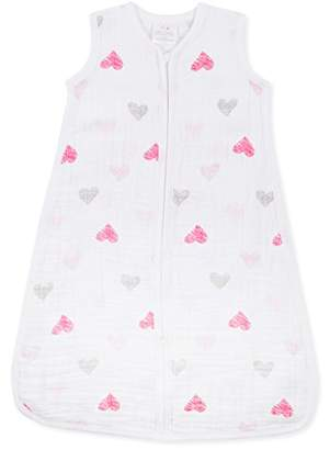 Aden Anais Aden + Anais 1.0 TOG Sleeping Bag, 100% Cotton Muslin, Lovebird, 6-12m