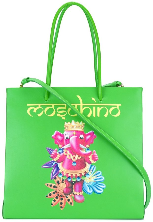 Moschino Moschino jewelled elephant tote