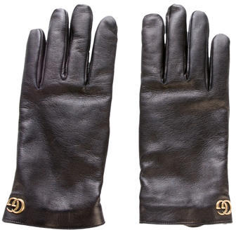 Gucci Gucci 2017 Marmont Leather Gloves