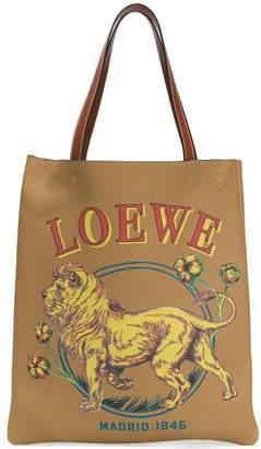 Loewe Lion vertical tote bag