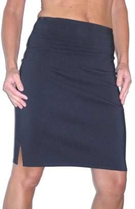 Ice Stretch Pencil Skirt School Office Sizes