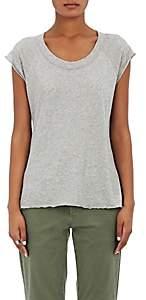 Nili Lotan Women's Jersey Baseball T-Shirt-Gray
