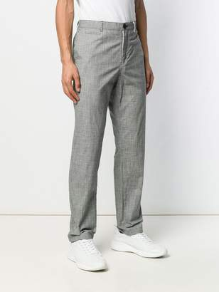 Paul Smith straight check trousers