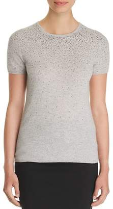 Bloomingdale's C by Cascade Embellished Cashmere Sweater - 100% Exclusive