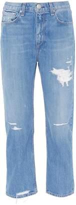 Rag & Bone 'Boy' drop crotch ripped boyfriend jeans