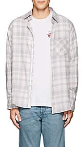 Rag & Bone Men's Checked Cotton Flannel Fit 3 Shirt - Pink