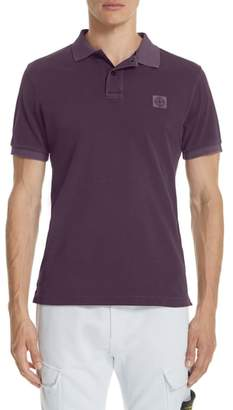 Stone Island Polo Cotton Pique Polo