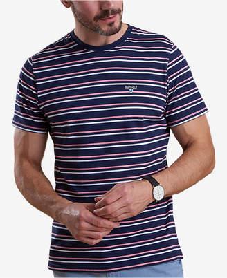 Barbour Men's Duxford Dark Blue Stripe T-Shirt