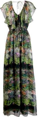 AILANTO long printed dress
