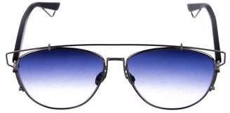 Christian Dior Gradient Metal Sunglasses