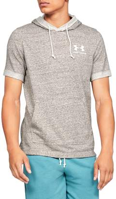 Under Armour Sportstyle Short-Sleeve French Terry Hoodie