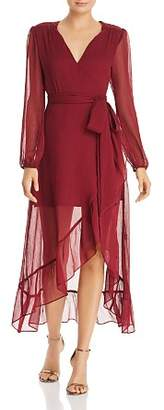 WAYF Only You Ruffled Wrap Dress - 100% Exclusive