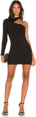 Susana Monaco One Sleeve Cut Out Dress