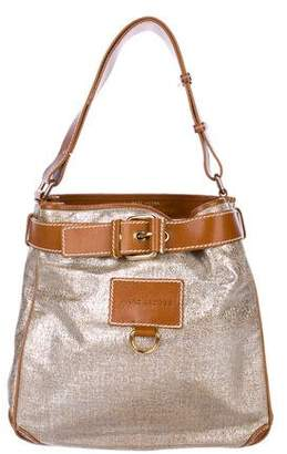 Marc Jacobs Metallic Canvas Shoulder Bag