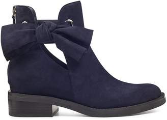 Tinasofa Bow Flat Booties