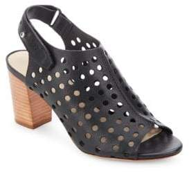 Loeffler Randall Alix Perforated Leather Booties