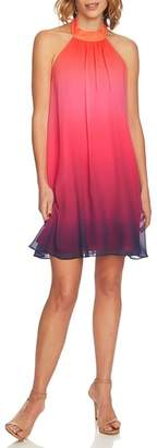 CeCe Monte Ombre Halter Dress