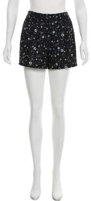 The Kooples Printed High-Rise Shorts w/ Tags