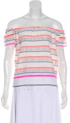 Lemlem Off-The-Shoulder Striped Top