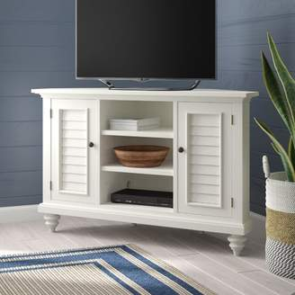 Beachcrest Home Harrison Corner TV Stand for TVs up to 49""