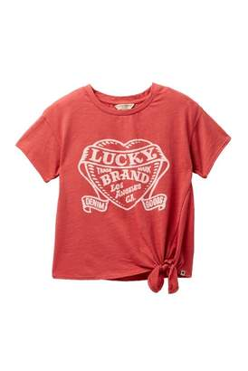 Lucky Brand Livia Graphic Tee (Big Girls)