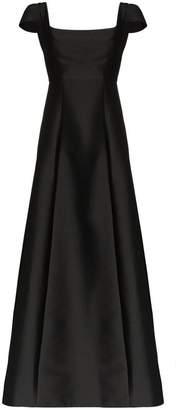 Vika Gazinskaya bell hem maxi dress