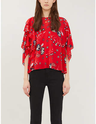 Zadig & Voltaire ZADIG&VOLTAIRE Tap Daisy silk blouse