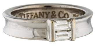 Tiffany & Co. 18K Diamond Stackable Ring