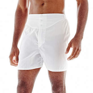STAFFORD Stafford 3-pk. Woven Blended Cotton Yoke-Front Boxers-Big & Tall