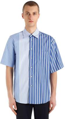 Marni Striped Cotton Poplin Shirt