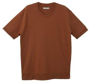 Mango man MANGO MAN Cable knit finish t-shirt