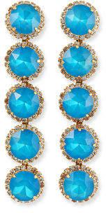 Elizabeth Cole Maya 5-Drop Earrings
