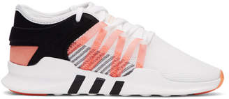 adidas White and Black QT Racing Adv Sneakers