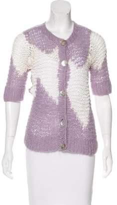 Anna Sui Open Knit Cardigan