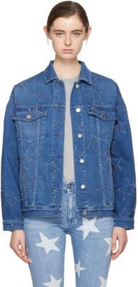 Stella McCartney Blue Denim Stars Jacket