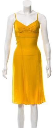 CNC Costume National Sleeveless Silk Dress w/ Tags
