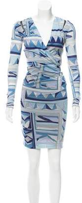 Emilio Pucci Wool Long Sleeve Dress w/ Tags