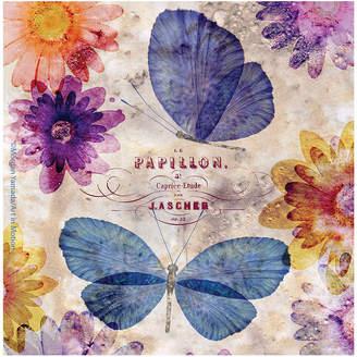 Thirstystone COLLECTION Fleur de Papillon Set of 4 Coasters