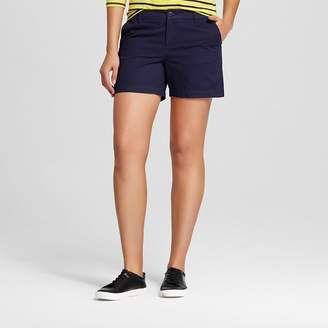 "Merona Women's 5"" Chino Short $19.99 thestylecure.com"