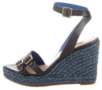 Paul Smith Woven Wedge Sandals