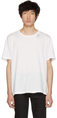 Saint Laurent White Cards T-Shirt