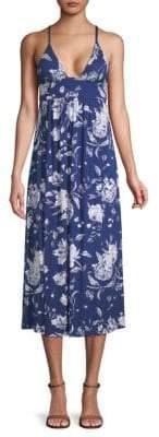 Rachel Pally Veronique Floral Spaghetti Dress