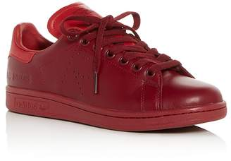 Raf Simons for Adidas Women's Stan Smith Leather Lace Up Sneakers
