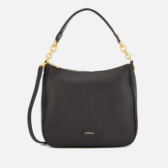 Furla Women's Cometa Medium Hobo Bag - Black