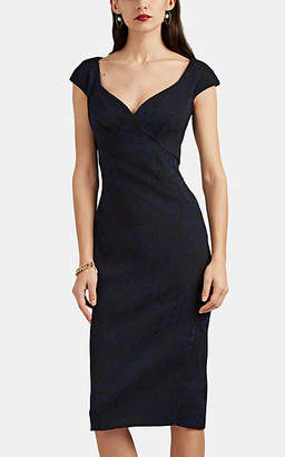 8d20cf3a573 Zac Posen Women s Floral Jacquard Dress - Black ...