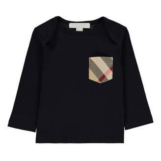 Burberry Sale - Tartan Callum T-Shirt with Pocket